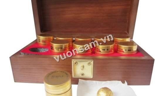 An Cung Ngưu Hoàng Hàn Quốc (Hộp Gỗ 10 Viên) Giá 4.75tr/hộp